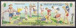 GB - Insel Man (1989)  Mi.Nr.  404 + 405  Gest. / Used  (3gh09)  EUROPA - Man (Eiland)