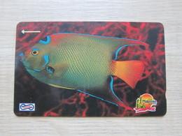 Uniphone GPT Phonecard,15MSAA  Visit Malaysia Year 1990, Ocean Fish, Used - Malaysia