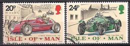 GB - Insel Man (1995)  Mi.Nr.  637 + 638  Gest. / Used  (3gh10) - Man (Eiland)