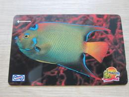 Uniphone GPT Phonecard,14MSAB  Visit Malaysia Year 1990, Ocean Fish, Mint - Malaysia