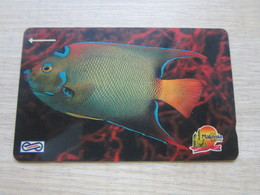 Uniphone GPT Phonecard,19MSAA  Visit Malaysia Year 1990, Ocean Fish,used - Malaysia