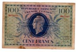 Billet De 100 Francs Marianne 1943 PH - Trésor