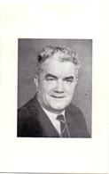 Devotie Doodsprentje Overlijden - Ere Schoolhoofd Oudstrijder Rene Van Poucke - Brugge 1905 - 1969 - Heist - Obituary Notices