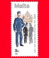 Nuovo  - MNH - MALTA - 1984 - 170 Anni Della Polizia Maltese - Uniformi - 3 C - Malta
