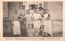 Volontaires Luxembourgeois Au Service De La France - Cartes Postales