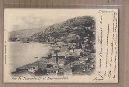 CPA TURQUIE - TREBIZONDE - Vue De TCHEUMLEKDJI Et DEYIRMEN-DERE - TB Vue Générale Village Maisons + Oblitération - Turchia