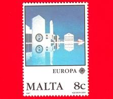 Nuovo - MNH - MALTA - 1987 - Europa - Aquasun Lido - C.E.P.T. - Architettura Moderna - 8 C - Malta