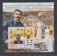 B774. Guinee - MNH - 2016 - Sport - Olimpic Games - Historie - Bl - Other