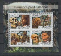 C772. Mozambique MNH - 2016 - Nature- Prehistoric - Human - Vegetales