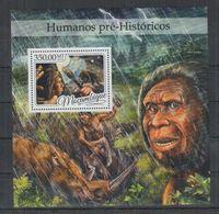 C772. Mozambique MNH - 2016 - Nature- Prehistoric - Human - Bl - Vegetales