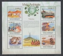 H378. Mozambique - MNH - 2010 - Nature - Volcanoes - Vegetales