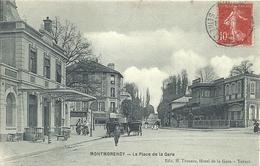 2020 - 06 - VAL D'OISE - 95 - MONTMORENCY - Place De La Gare Et Gare - Animation - Montmorency
