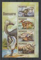 Y772. Mozambique - MNH - 2016 - Nature - Fauna - Prehistoric - Dinosaurs - Vegetales