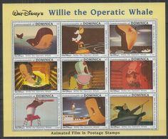 Y977. Dominica - MNH - Cartoons - Disney's - Characters - Willie - Disney