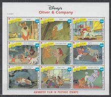 Y977. St Vincent - MNH - Cartoons - Disney's - Animated Movies - 1 - Disney