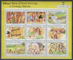Y977. St Vincent - MNH - Cartoons - Disney's - Animated Movies - 3 - Disney
