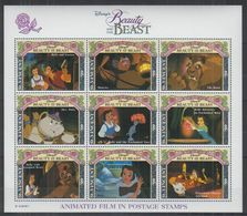 Y977. St Vincent - MNH - Cartoons - Disney's - Beauty And The Beast - Disney