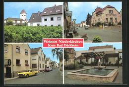 AK Niederkirchen, Winzer-Verein, Brunnen, Ortspartie - Non Classés