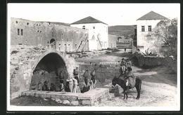 AK Nazareth, Fountain Of B. V. Mary - Palestina