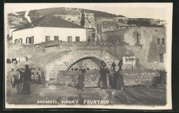 AK Nazareth, Virgin`s Fountain - Palestine
