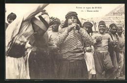 AK Syrien, Scènes Et Types, Danse Arabe - Siria