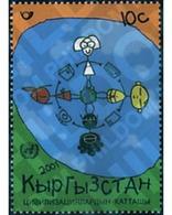 Ref. 87091 * MNH * - KYRGYZSTAN. 2001. YEAR OF DIALOGUE AMONG CIVILIZATIONS . AÑO INTERNACIONAL DEL DIALOGO ENTRE CIVIL - Kirghizistan