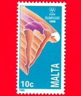 Nuovo - MNH - MALTA - 1988 - Giochi Olimpici - XXIV Olimpiade Di Seul - Tuffi - 10 C - Malta
