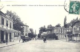 2020 - 06 - VAL D'OISE - 95 - MONTMORENCY - Place De La Gare Et Bd De L'Ermitage - Montmorency