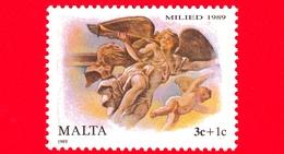Nuovo - MNH - MALTA - 1989 - Natale - Christmas - Angelo E Cherubino - 3 C + 1 C - Malta