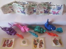 Kinder Surprise Deutch 1996 :Série 4 Figurines + 4 BPZ + 4 Stickers - Montables
