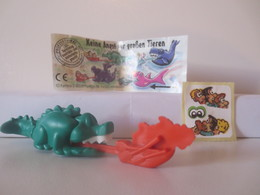 Kinder Surprise Deutch 1996 N° 656 429 + BPZ + Stickers - Montables
