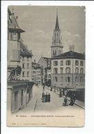 Saint Gallen , St Gall Gallusstrasse Und St Laurenzenkirche - SG St. Gall