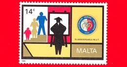 Nuovo - MNH - MALTA - 1989 - 70° Anniversario Dell'Unione Insegnanti Di Malta - Insegnante E Bambini - 14 C - Malta