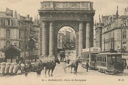 Tram Tramway Publicité Bouillon Kub Et Attelage De Chevaux - Tramways