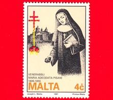 Nuovo - MNH - MALTA - 1991 - 185 Anni Della Nascita Della Venerabile Badessa Maria Adeodata Pisani - 4 C - Malta