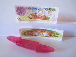 Kinder Surprise Deutch 1996 : N° 658847 + BPZ + Stickers - Montables