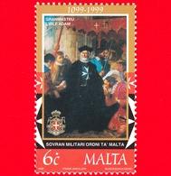 Nuovo - MNH - MALTA - 1999 - 900 Anni Del Sovrano Militare Ordine Di Malta - Gran Maestro I'Isle Adam - 6 - Malta