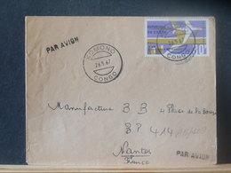 A13/109  LETTRE CONGO VENTE RAPIDE A 1 EURO - Oblitérés