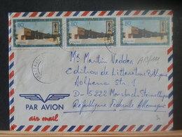 A13/111  LETTRE CONGO VENTE RAPIDE A 1 EURO - Oblitérés