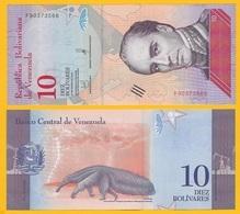 Venezuela 10 Bolivares P-103 2018 UNC Banknote - Venezuela