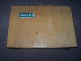 Jeux TABLOCODE Magnétique Jouet Ancien Code De La Route....Edmond Dujardin ... Avec Notice Et Livret... - Toy Memorabilia
