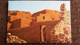 CPSM MAURITANIE OUALATA  ED DELROISSE 1978 HABITATION TERRE PIERRE - Mauritanie