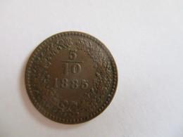 Austria: 5/10 Kreuzer 1885 - Austria