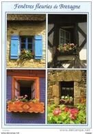 Fenêtres Fleuries De BRETAGNE    2 Scans - Bretagne