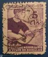 Guerra Civil. Sello Roto. - Spanish Civil War Labels