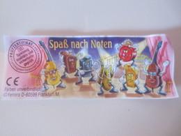 Kinder Surprise Deutch 1996 : BPZ N° 655430 - Instructions