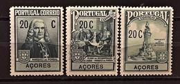 PORTUGAL Açores : N° 251 à 253 POMBAL - Azores