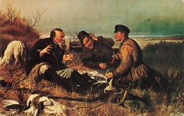 CPSM CPM - Russie - V.G. Perov - The Hunters - Russie