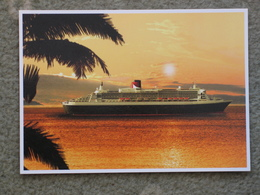 CUNARD QUEEN MARY 2 IN CARIBBEAN - Paquebote