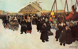 CPSM CPM - Russie - A. Ribnikov - Pre-lent Celebration In Moscow - Russie